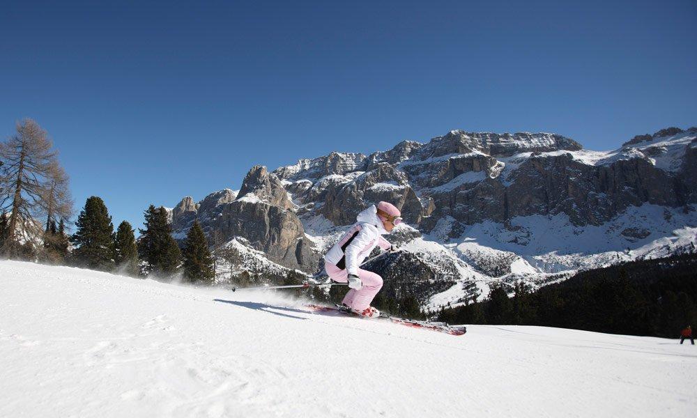 Zum Skifahren ins Eggental oder nach Gröden