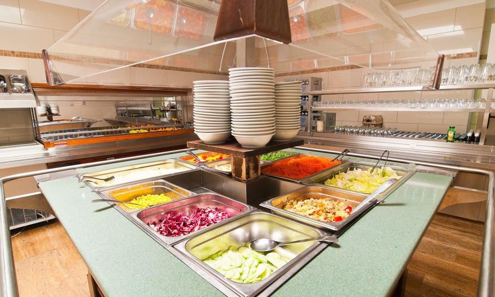 Frühstück, Halbpension oder Vollpension – Sie haben die Wahl