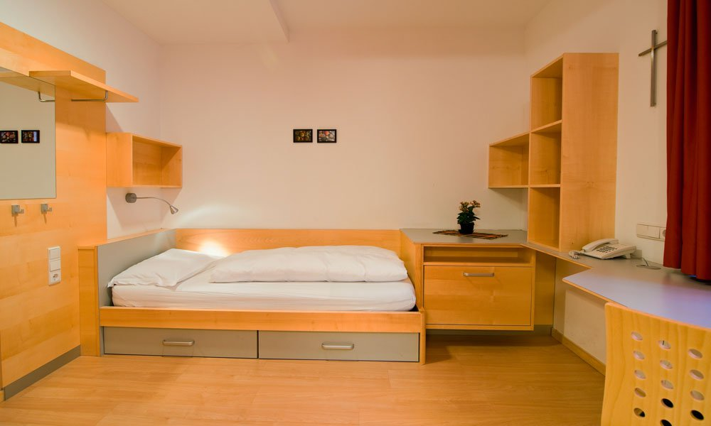 Living in the student residence in Bozen