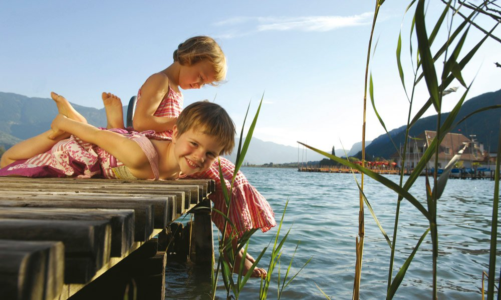 Ausflüge zum Montiggler und Kalterer See